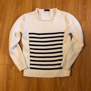 J.Crew stripe sweater